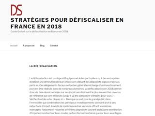 Défiscalisation & Stratégies : conseils en stratégies de défiscalisation 2018