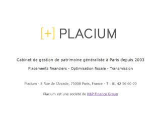 Placium : gestion de patrimoine à Paris